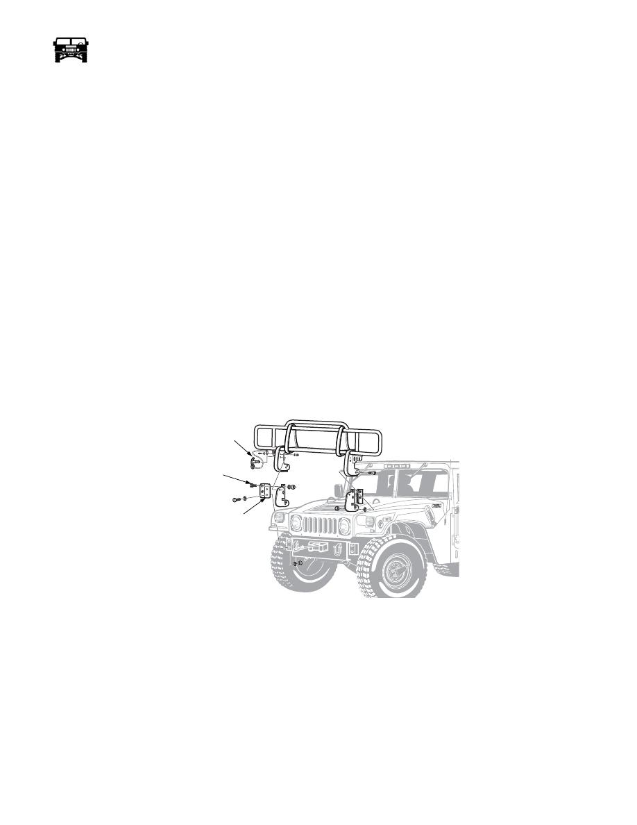 Hummer H1 (2006+). Manual - part 275 on