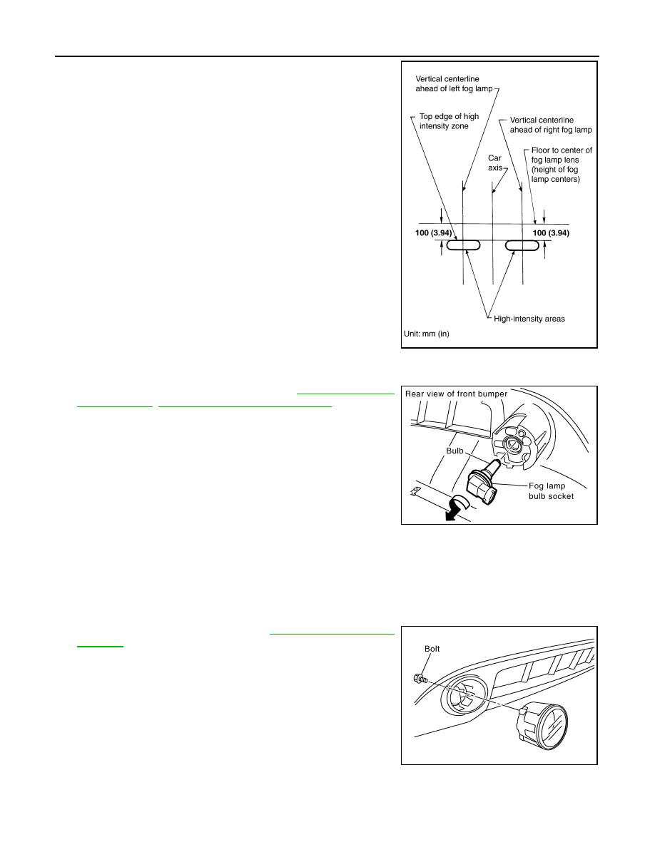 Infiniti Fx35 Fx45 Manual Part 795 M45 Fog Light Bulb Wiring Diagram Lt 76 Service Information Front Lamp