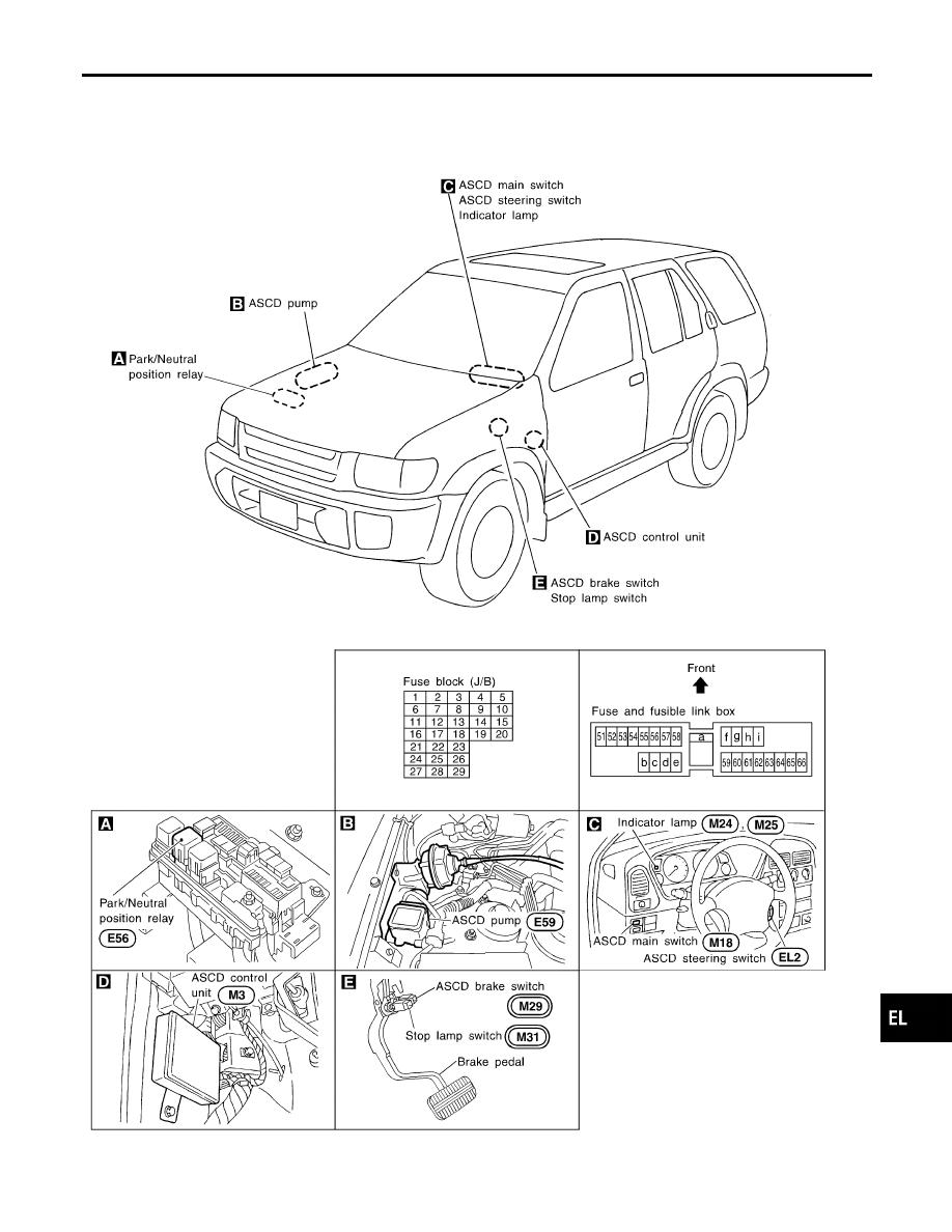 [DIAGRAM_34OR]  Infiniti QX4 (R50). Manual - part 351 | Infiniti Cruise Control Diagram |  | Zinref.ru