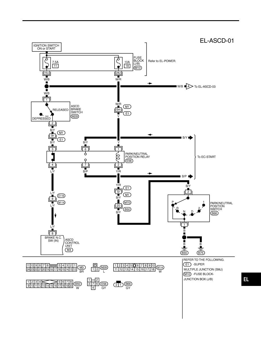 infiniti brake diagram