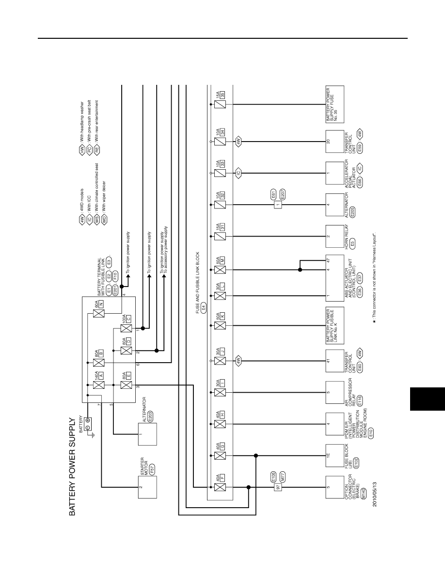 [ZHKZ_3066]  Infiniti QX56 (Z62). Manual - part 983   Wiring Diagram Rear Wiper Qx56      Zinref.ru