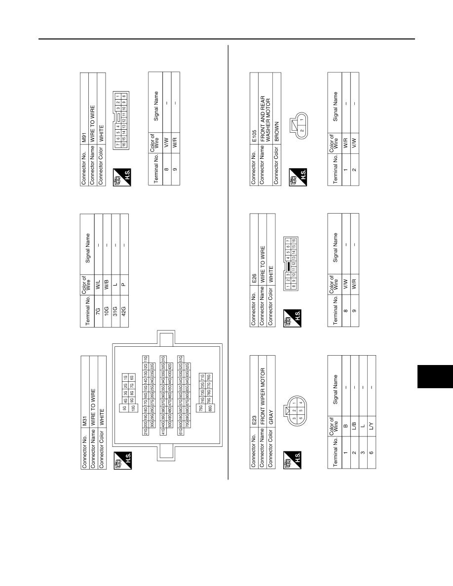 Wiring Diagram Rear Wiper Qx56 Electrical Diagrams 2007 Infiniti Engine Library Gm Motor