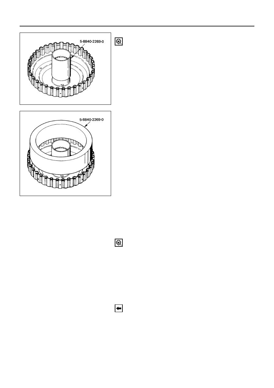 4L30E Transmission servo piston overdrive Accumulator cover