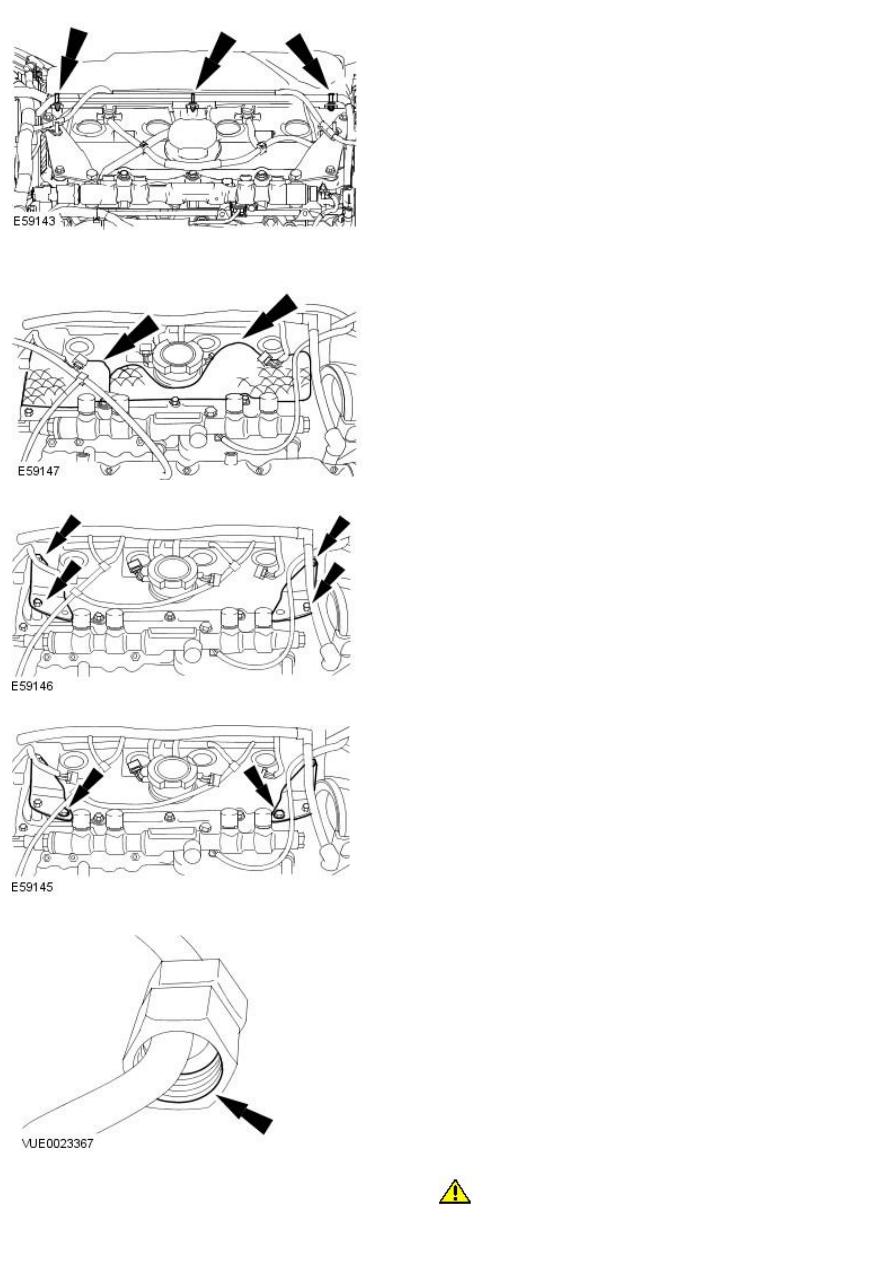 JAGUAR X-TYPE 2.0 2.2 D DIESEL HEAD VALVE COVER CYLINDER FUEL INJECTOR SEALS
